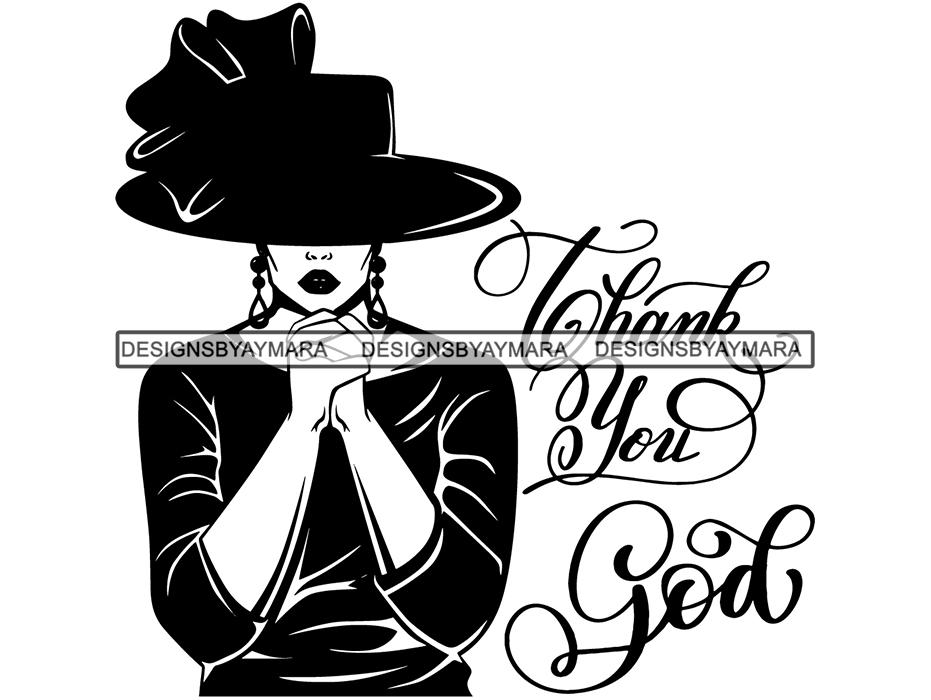 Woman Praying God .SVG .EPS .PNG .Jpg Vector Clipart Cricut Circuit Cut  Cutting.