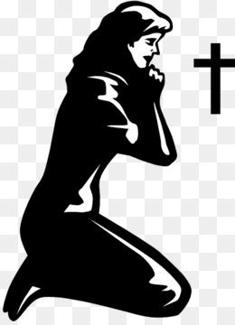 Png Of Praying Woman & Free Of Praying Woman.png Transparent Images.