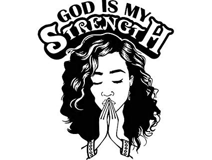 Amazon.com: EvelynDavid Woman Praying God Curly Hairstyle Stylish.