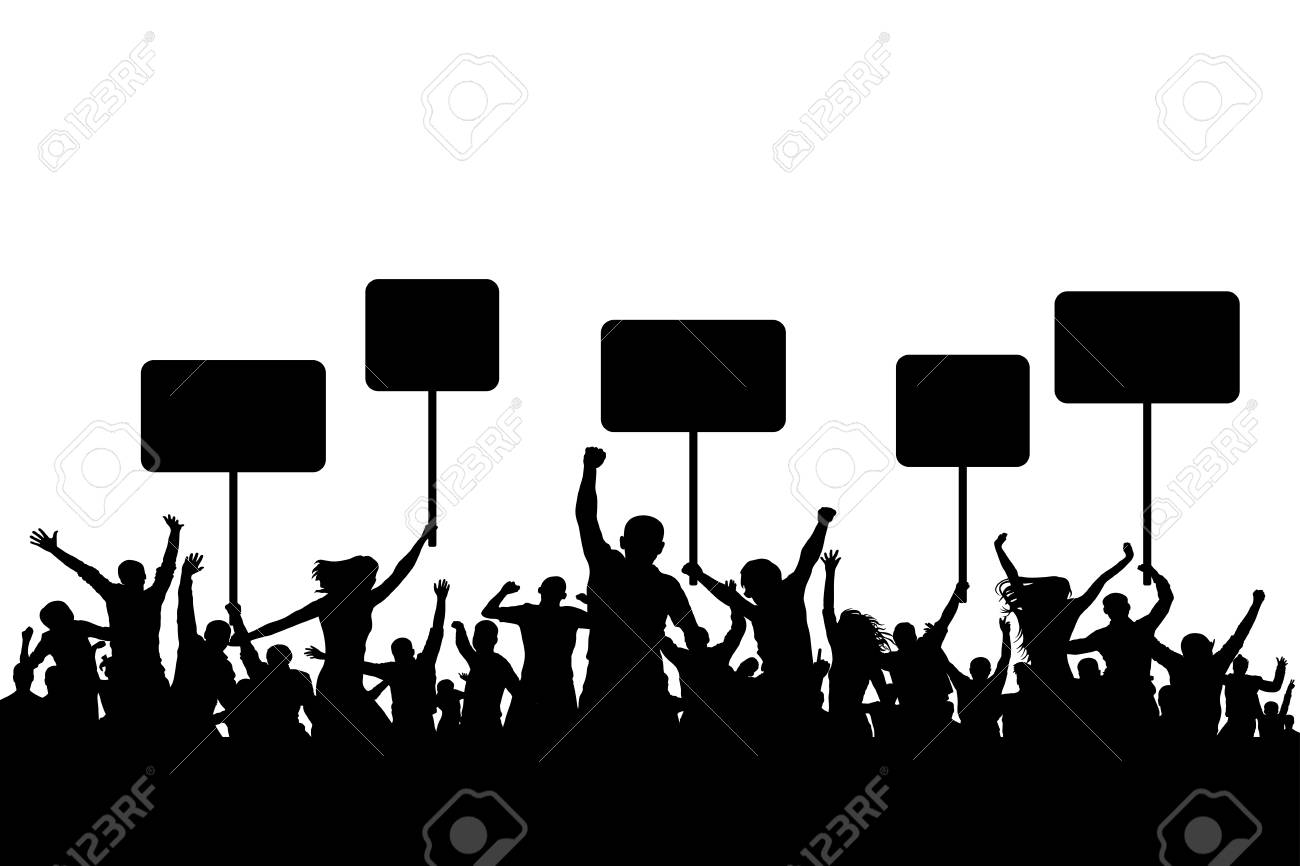 241 Protest free clipart.