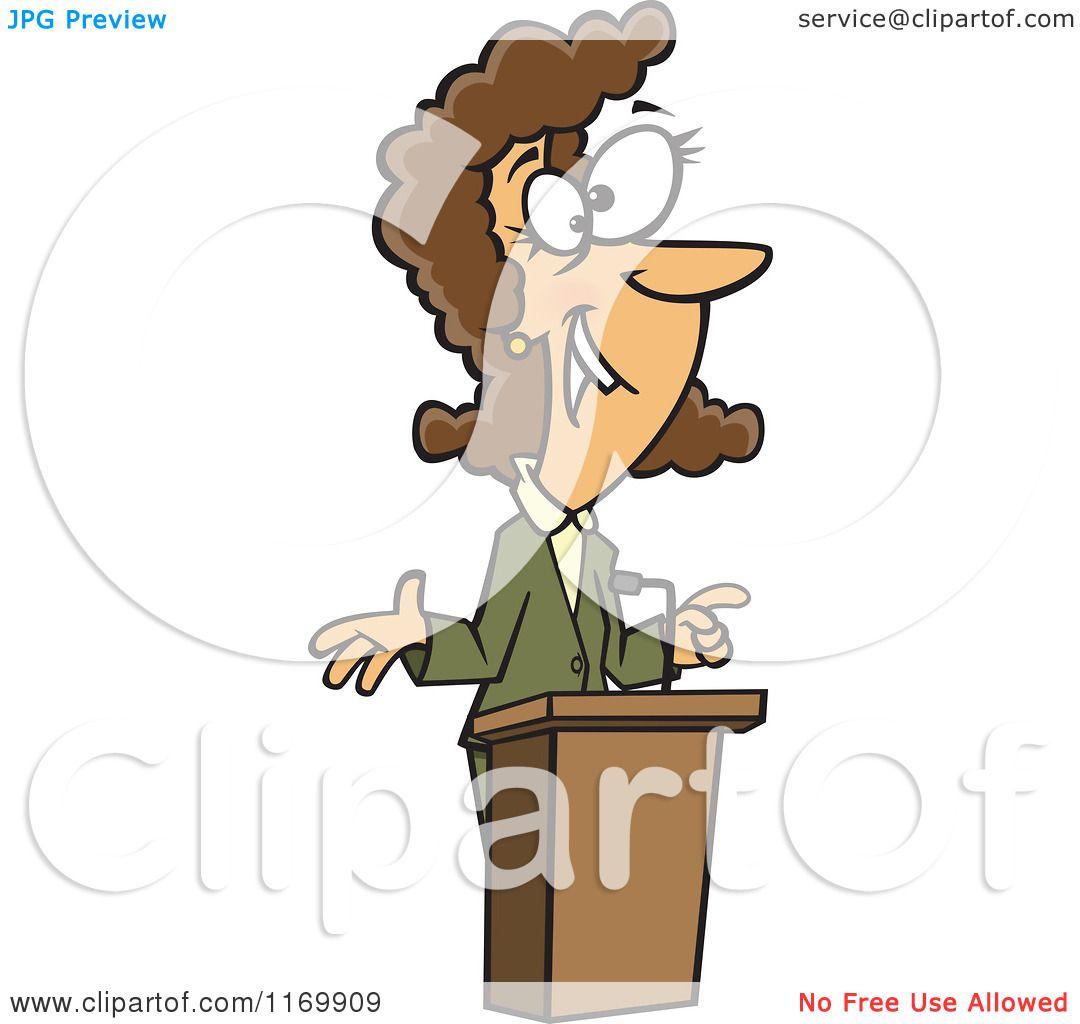 Showing post & media for Cartoon female speaker.