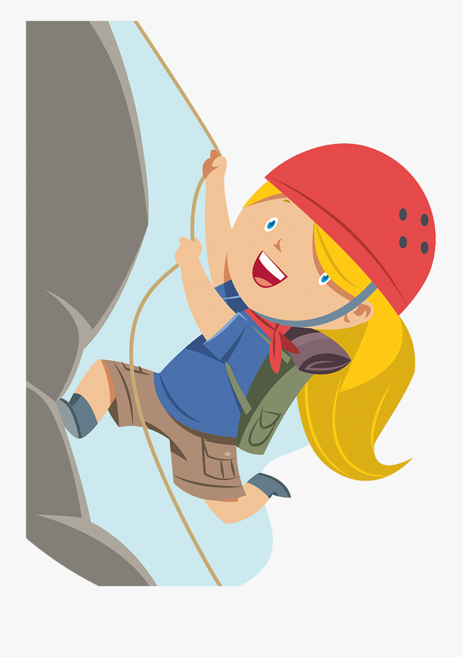 Transparent Mountain Climber Png.