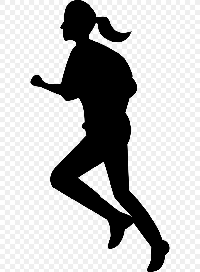 Woman Running Jogging Clip Art, PNG, 570x1114px, Watercolor.
