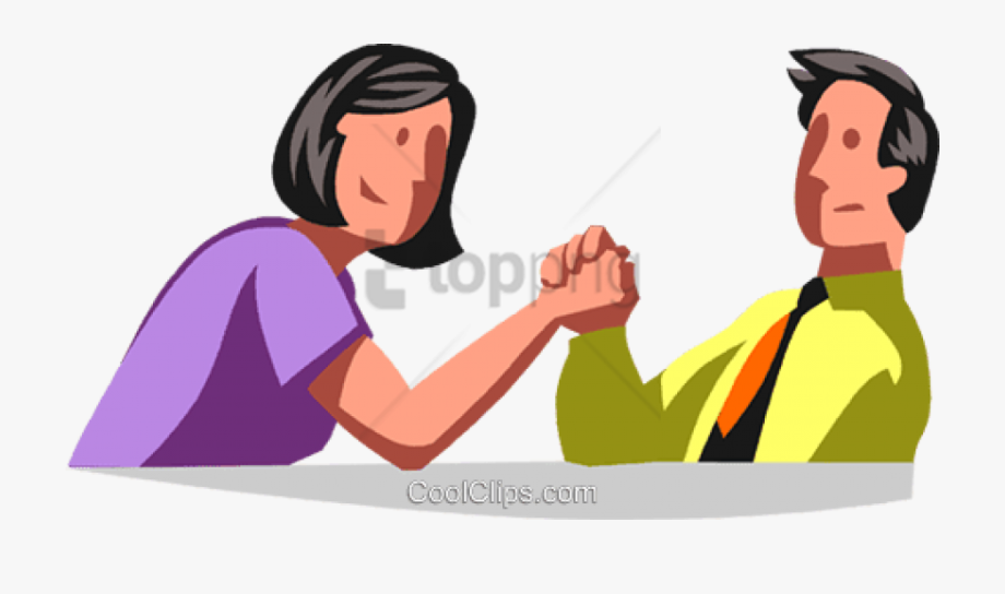 Free Png Arm Wrestling Man Vs Woman Png Image With.