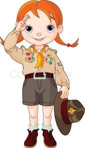 Image result for girl scout salute clipart.