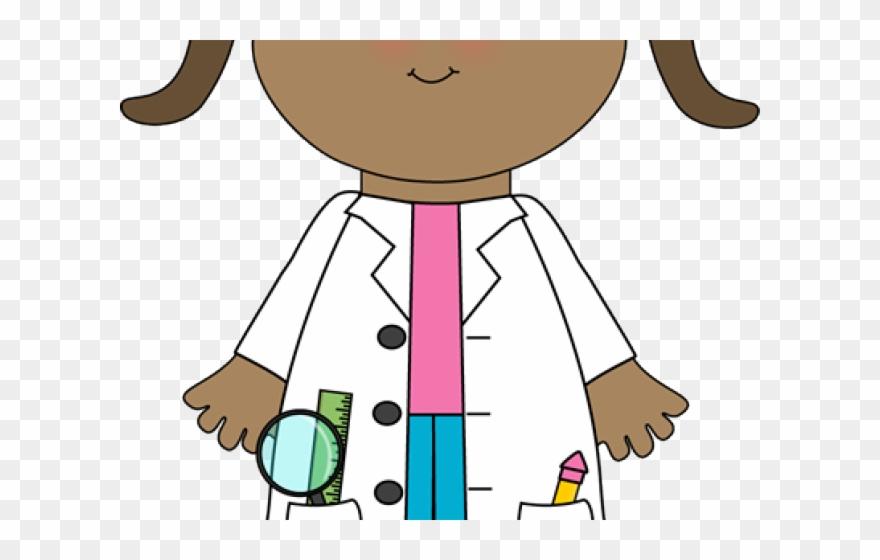 Girl Clipart Scientist.
