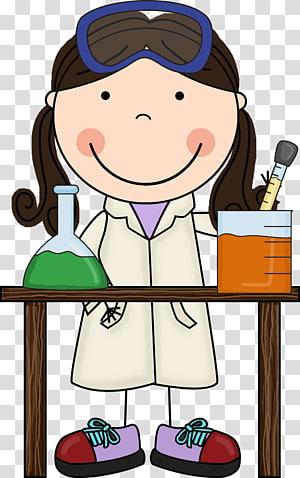 Mad scientist Science Women , scientist transparent.