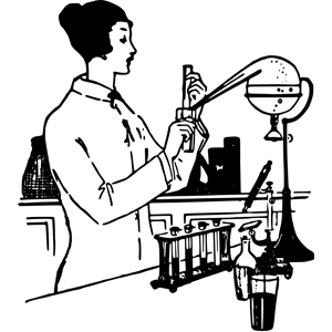 Lady Scientist clipart, cliparts of Lady Scientist free.