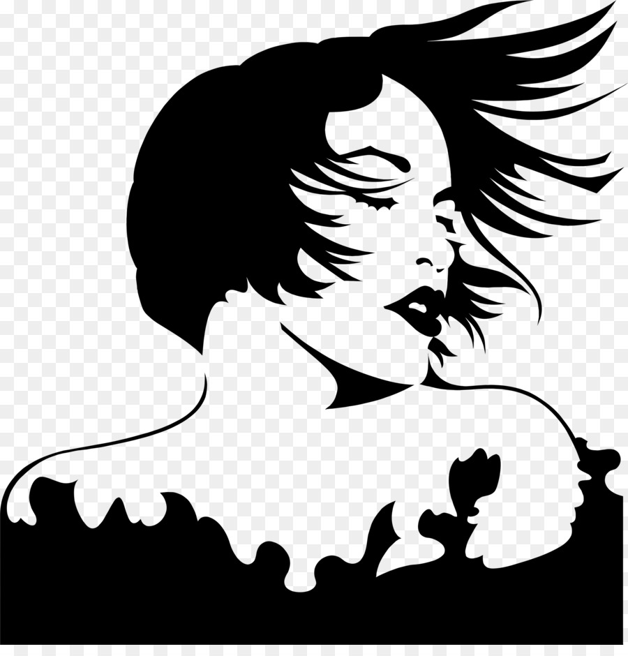 Woman Hair clipart.
