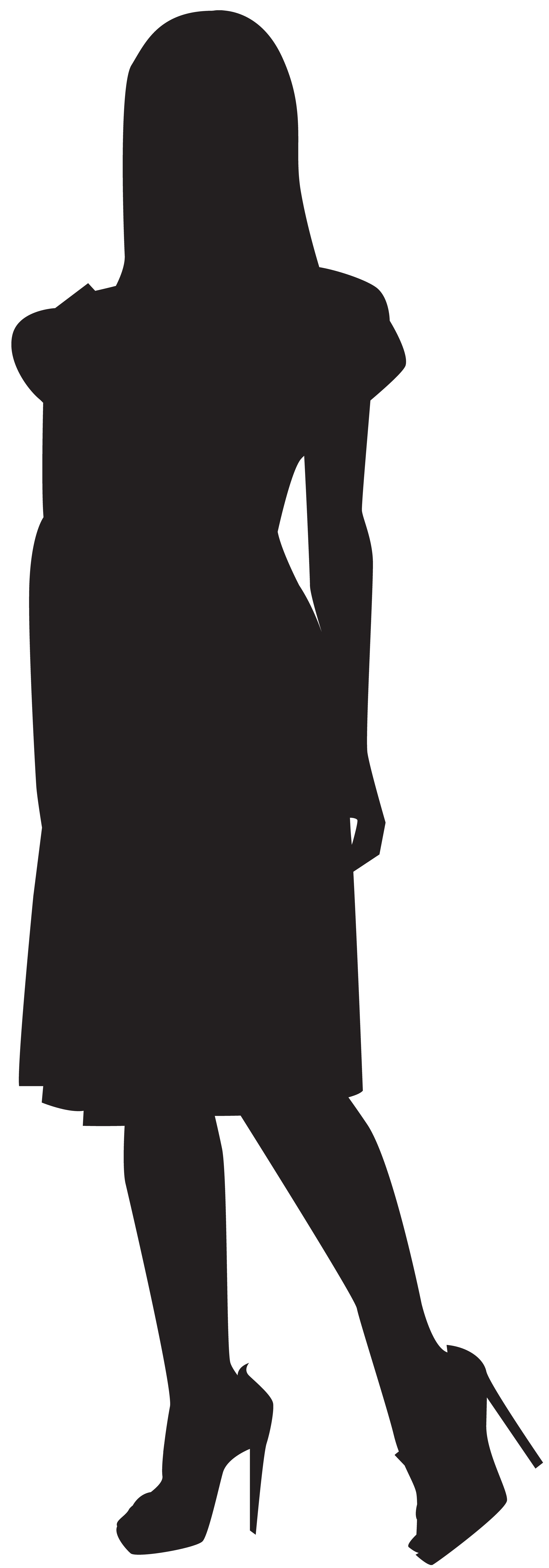 Woman Silhouette Clipart Png.
