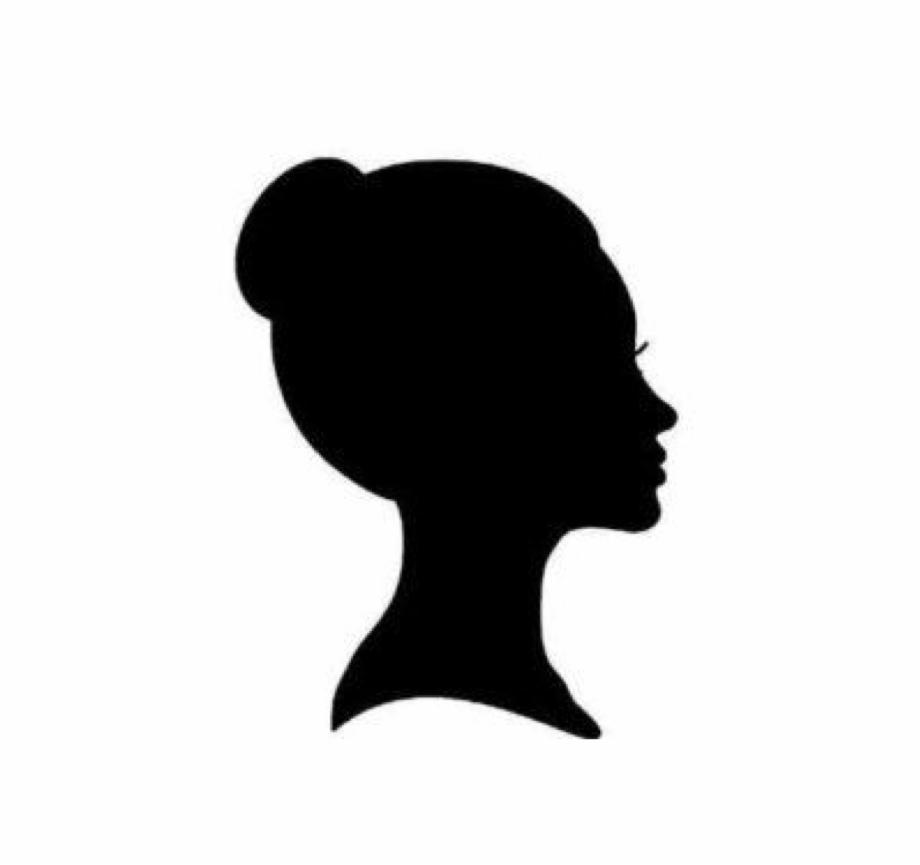 Woman slide profile clipart Transparent pictures on F.