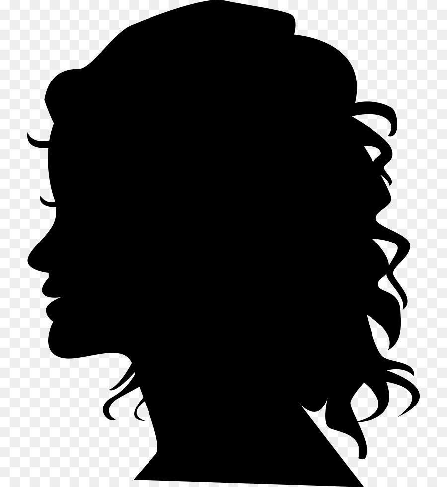 Free Black Woman Face Silhouette, Download Free Clip Art.