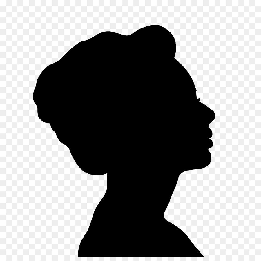 Silhouette Model Female Clip art.