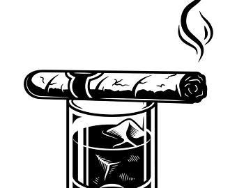 Blunt clipart vintage cigar, Blunt vintage cigar Transparent.
