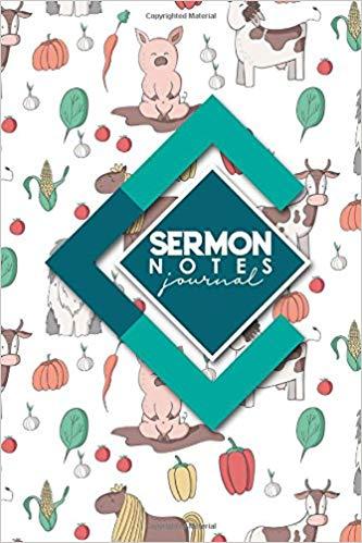 Sermon Notes Journal: Sermon Journal For Women, Sermon.
