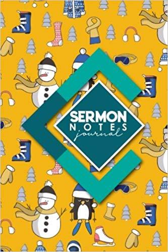 Sermon Notes Journal: Sermon Journal For Ladies, Sermon.