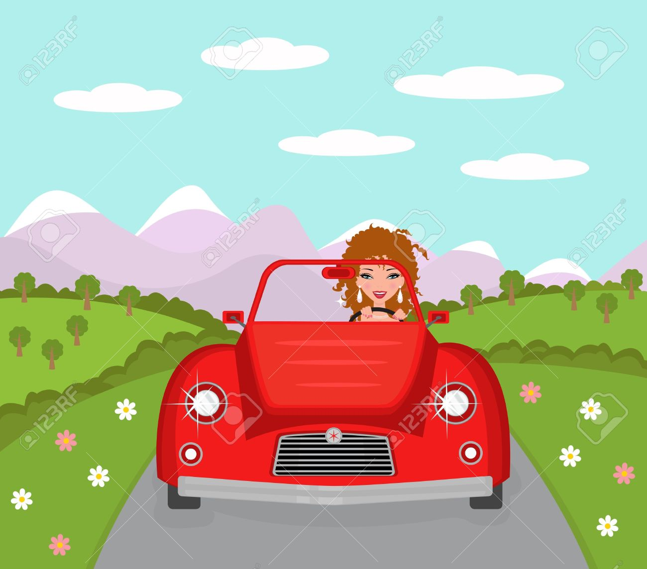 Free Woman Driving Cliparts, Download Free Clip Art, Free.