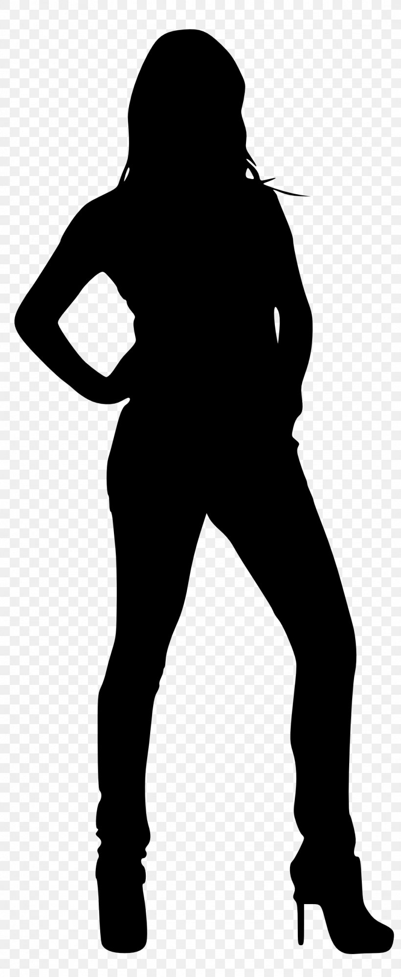 Silhouette Woman Female Clip Art, PNG, 1084x2641px.