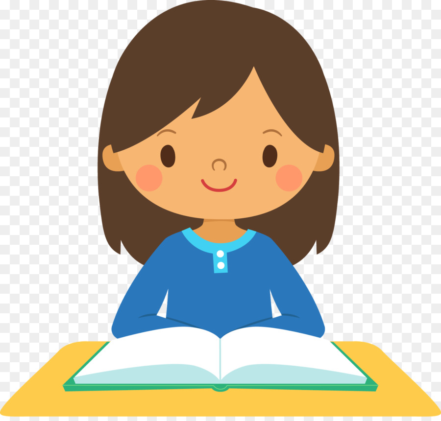 Girl Studying Clipart Png.