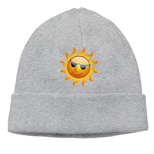 Amazon.com: Ghhpws Summer Clipart Sun Beanie Wool Hats Knit.
