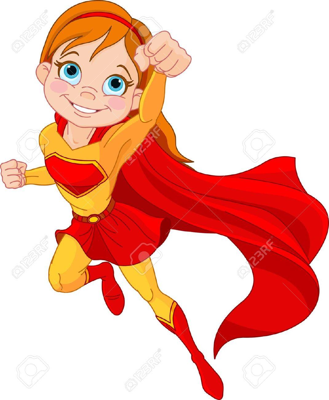 Women Superhero Clipart.