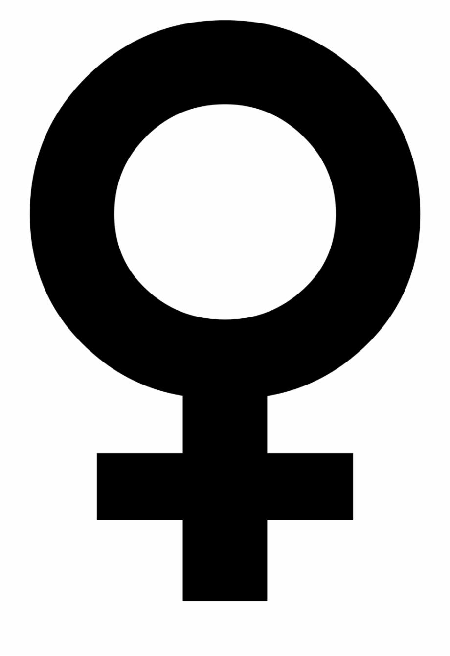 Female Symbol Vector.