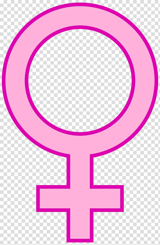 Gender symbol Female Woman , Female Symbole transparent.