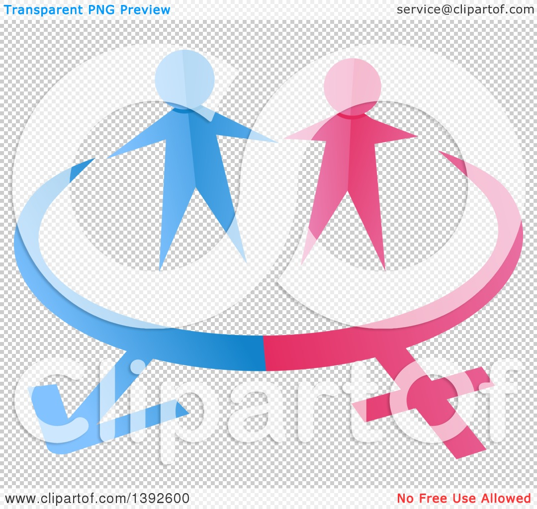 Woman Symbol Pink Background Free Clipart.