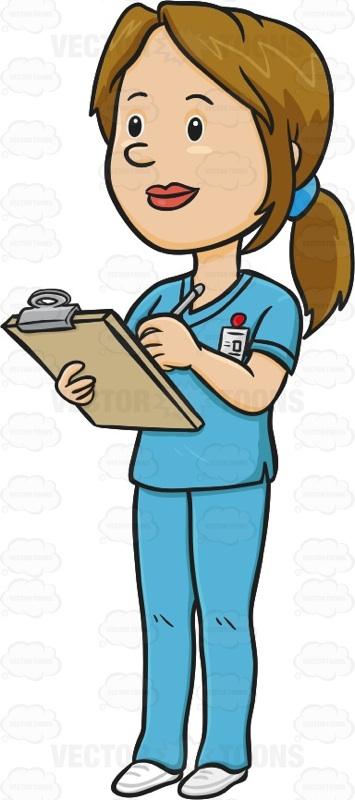 Nurse Note Clipart.