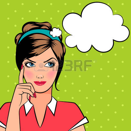 7,176 Girl Thinking Stock Illustrations, Cliparts And Royalty Free.