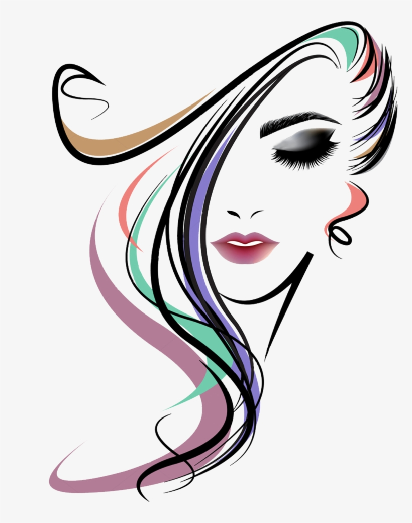 Vector Women Long Hair Style By Checonx On Deviantart.