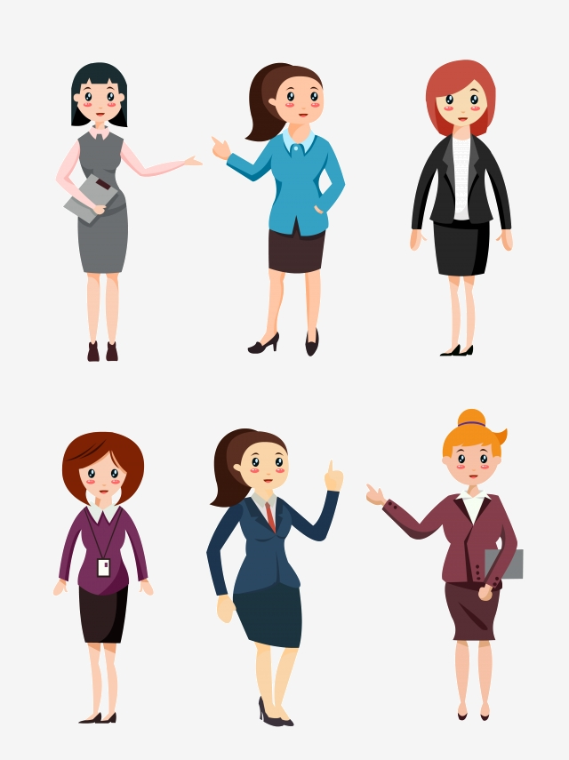 Business Woman Vector, Business, Female, Vector PNG Transparent.