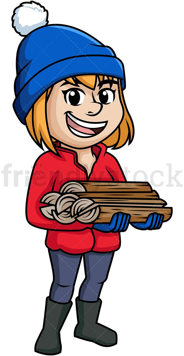 Woman Carrying Firewood in 2019.