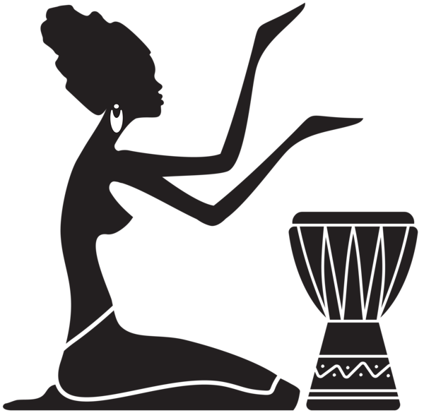 Female clipart afro, Female afro Transparent FREE for.