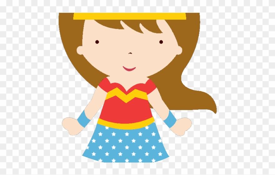 Doll Clipart Superhero.