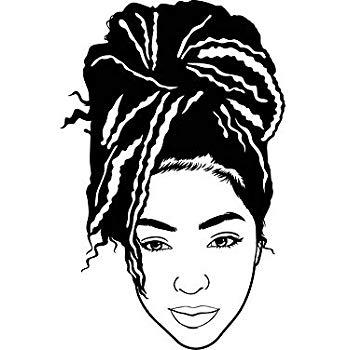 Amazon.com: EvelynDavid Black Woman Dreads Hairstyle Stylish.