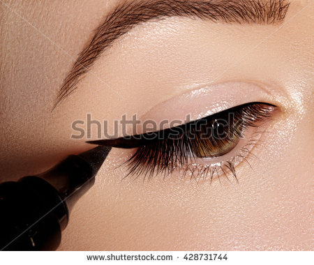 Cat Eyes Stock Images, Royalty.