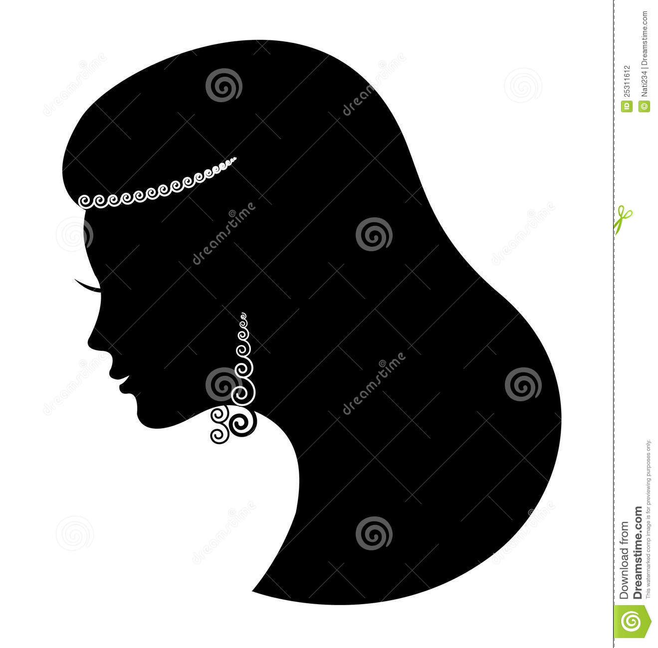 55779 Woman free clipart.