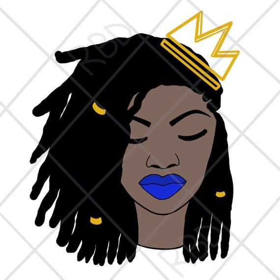 Pin on Black Women SVG PDF PNG Files.