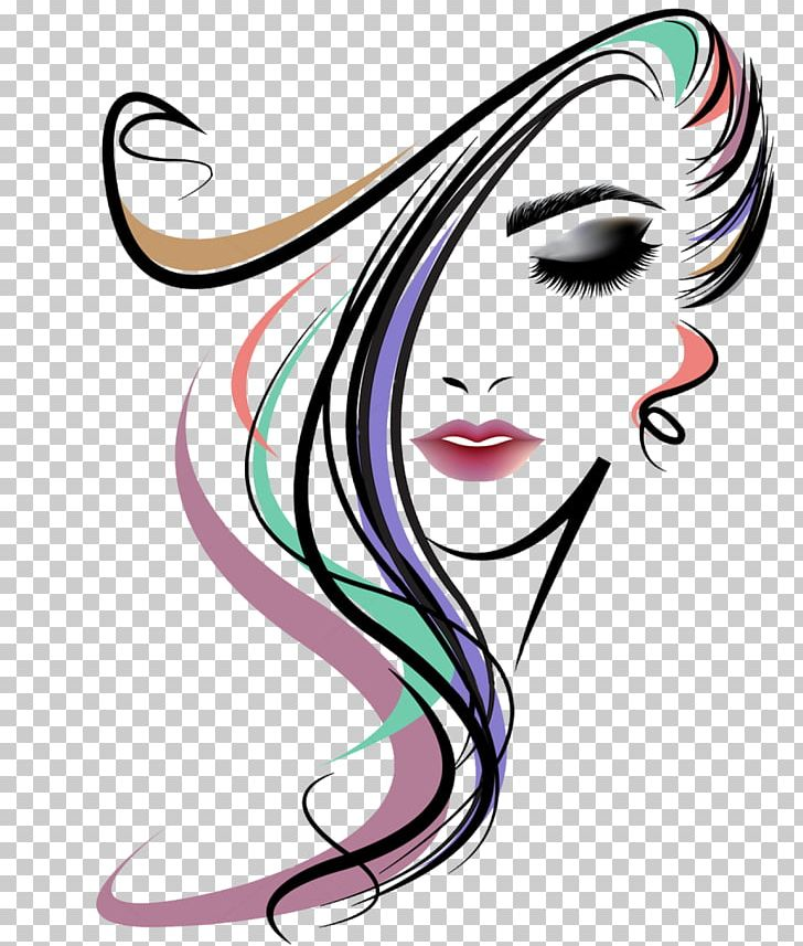 Hairstyle Long Hair Woman PNG, Clipart, Artwork, Beauty.