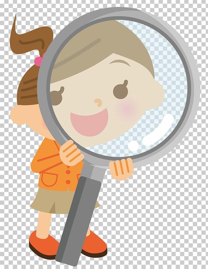 Cartoon Magnifying Glass PNG, Clipart, Cartoon Character.