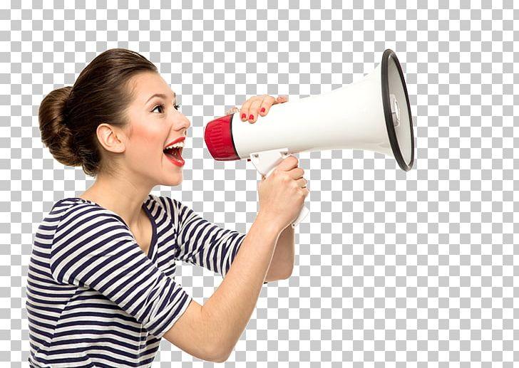 Speech Public Speaking Woman Female Megaphone PNG, Clipart.