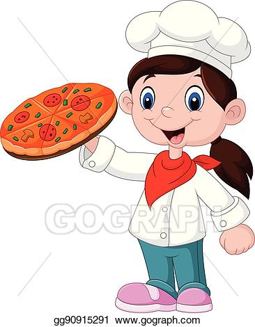 Cute Pizza Clipart.