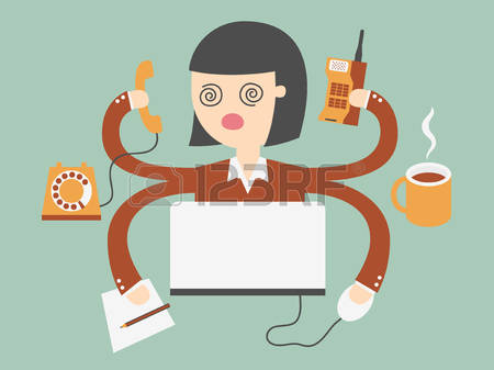 79,715 Working Woman Stock Vector Illustration And Royalty Free.