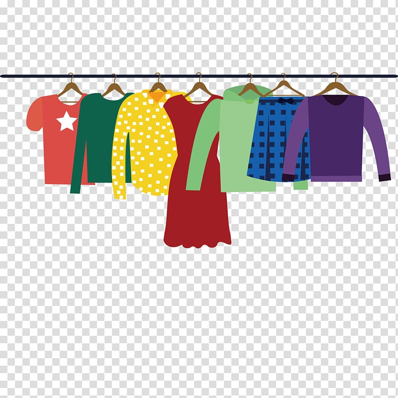 Assorted clothes , Clothing Adobe Illustrator, Women\\\'s.