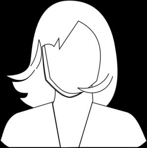 Woman S Head Clip Art at Clker.com.