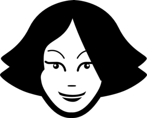33+ Woman's Head Clipart.