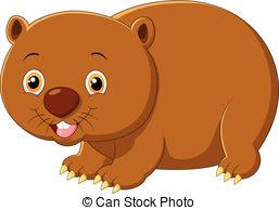 Wombat Illustrations and Clip Art. 188 Wombat royalty free.