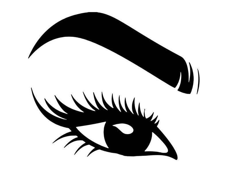 Eyebrow clipart women\'s eye, Eyebrow women\'s eye Transparent.