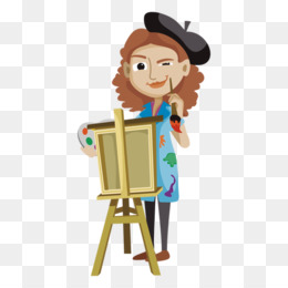 Women Artists PNG and Women Artists Transparent Clipart Free.